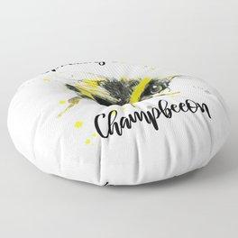 Spelling Bee Champbeeon - Punny Bee Floor Pillow