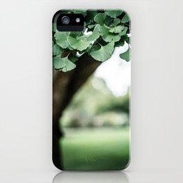 Botanical Study x Gingko iPhone Case