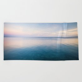 oh, Sea, how I love thee Beach Towel