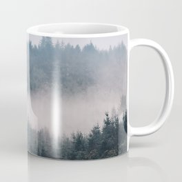Misty forest Wicklow Mountains Ireland Coffee Mug