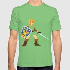 Link - The Legend of Zelda - Minimalist - Nintendo Mens Fitted Tee MEDIUM Grass