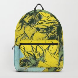 The sunflowers moment Backpack