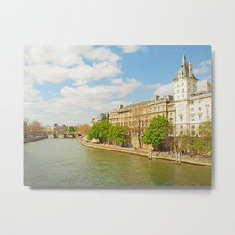 The River Seine Metal Print