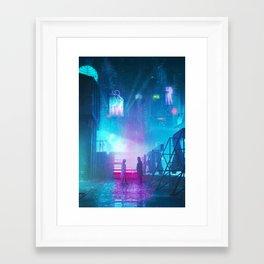 BLADE RUNNER Painting Poster   PRINTS   Blade Runner 2049   #M6 Framed Art Print