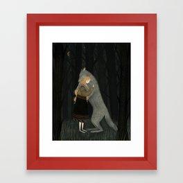Lupine Friend Framed Art Print
