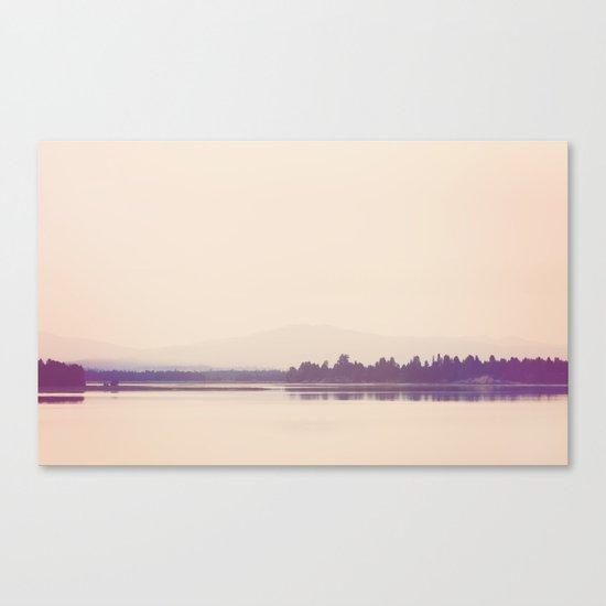 Nostalgic Cascade Lake Idaho Canvas Print