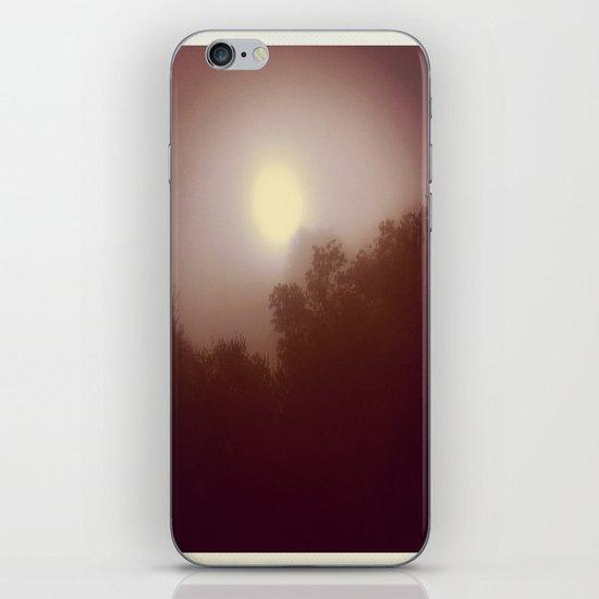 Foggy Autumn Morning iPhone & iPod Skin