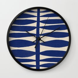 One Hundred-Leaved Plant #1 Wall Clock
