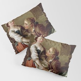 The Beautiful Kitchen Maid - Francois Boucher Pillow Sham