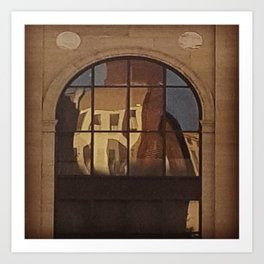 Reflections of Yesteryear Art Print