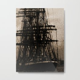 Ship Ahoy-Dark Metal Print