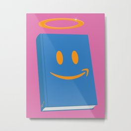 Amazon Is The Reader's Friend  Metal Print