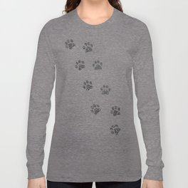 Cat tracks Long Sleeve T-shirt