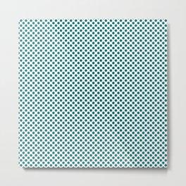 Fanfare Polka Dots Metal Print