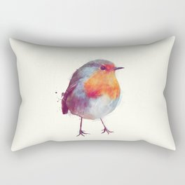 Winter Robin Rectangular Pillow
