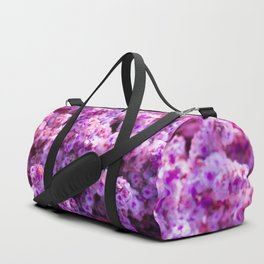 Rest Stop Flowers ~ Salt Flats, Utah Duffle Bag
