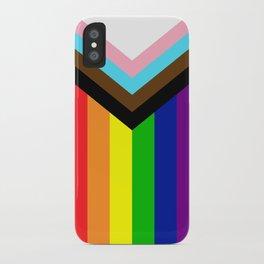 LGBTQ+ Pride Flag Inclusive (LGBTQ+ Pride, Gay Pride) iPhone Case