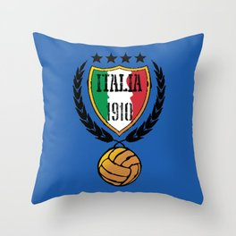 Italia Retro  Throw Pillow