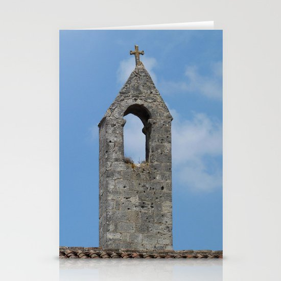 Saint Emilion rooftop Stationery Cards