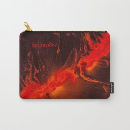 Hot Inside Carry-All Pouch
