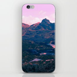 Landscape of Lakes iPhone Skin