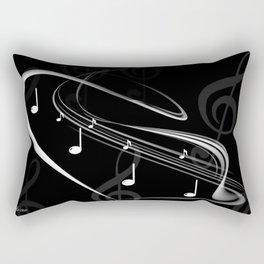DT MUSIC 4 Rectangular Pillow