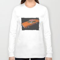 general Long Sleeve T-shirts featuring General Lee by Ewan Arnolda