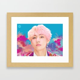 Idol V Framed Art Print