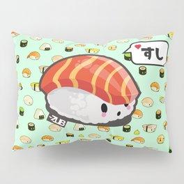 KAWAII SUSHI // <3 SUSHI // SALMON Pillow Sham