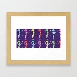 Showgirls Framed Art Print