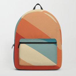 Vintage Retro 70s Palette Backpack