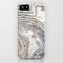 Marble cave iPhone Case