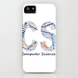 Computer Science iPhone Case