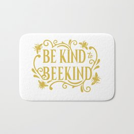 Be Kind to Beekind - Save the Bees Bath Mat