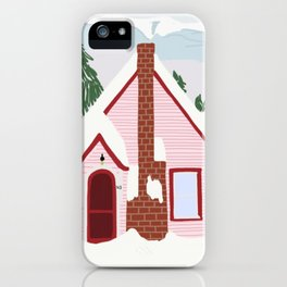 Winter House iPhone Case