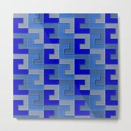 Geometrix XCI Metal Print