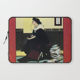 The New Woman, vintage Comedy Theatre london advert Laptop Sleeve