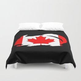Canada Chinchilla Duvet Cover
