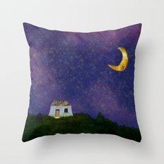 Huisje Throw Pillow