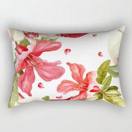 Pomegranate pattern #3 Rectangular Pillow