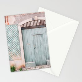 The mint door Stationery Cards
