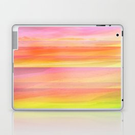 Seascape in Shades of Yellow and Peach Laptop & iPad Skin