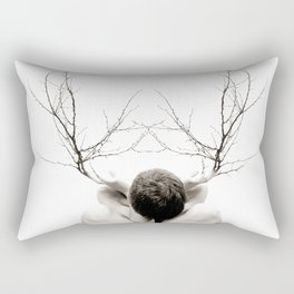 as the roots undo Rectangular Pillow