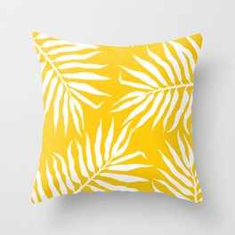 Malé mustard Throw Pillow