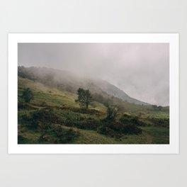 Monte Cocuzzo Art Print