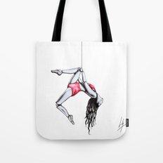 'By a thread' Tote Bag
