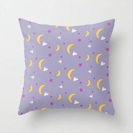 Usagi Tsukino Sheet Duvet - Sailor Moon Bunnies V2 Throw Pillow