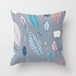 Garden Pattern 2 Throw Pillow