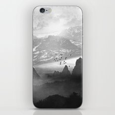 Black and White - Winter. Melody... iPhone & iPod Skin