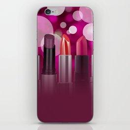 Lipstick Circles Bubbles Cosmetic Cosmetics iPhone Skin